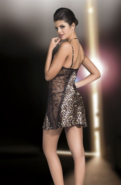 For Dreams Natali Leopar Fantazi Babydoll 3010
